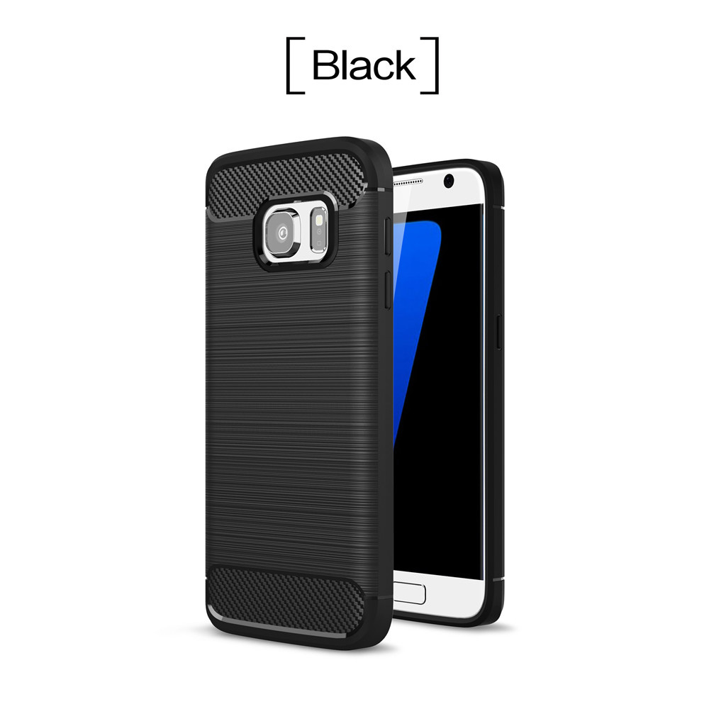 Carbon Fibre Case For Samsung Galaxy S8 S9 Plus S6 S7 Edge Note9 A3 A5 A6 A7 J4 J5 J6 J7 J8 J2 Prime Grand Prime 360 Cover Skin