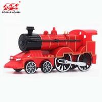 Hot 1 55 Classic Alloy Locomotive Steam Train Model Acousto Optic Metal Car Model Classic Car