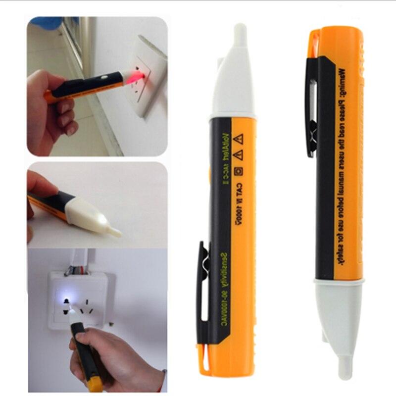 Electric Socket Wall AC Power Voltage Detector Sensor Tester Pen Stick 90-1000V