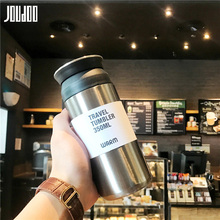JOUDOO 350ml Portable Coffee Mug With Filter Stainless Steel Travel Tumbler Vacuum Flask Thermos cup Thermal Water Bottle 35