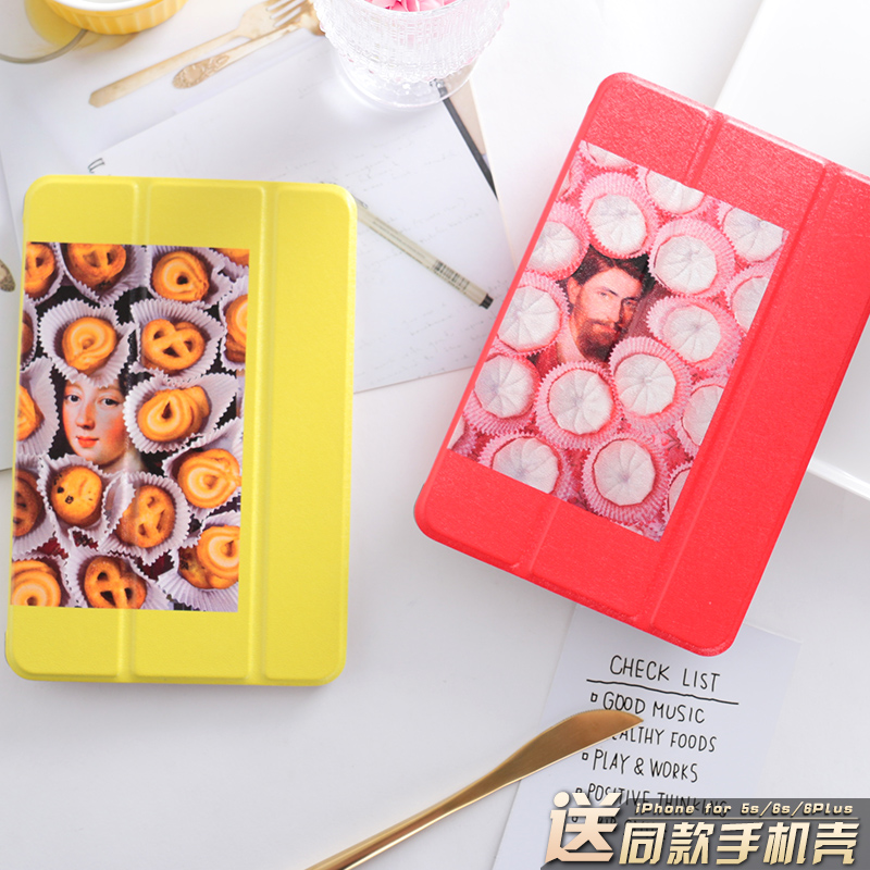 Biscuit Mini4 Mini2 Mini3 Flip Cover For iPad Pro 10.5 9.7 2017 Air Air2 Mini 1 2 3 4 Tablet Case Protective Shell 10.5 9.7 personal cartoon boat mini4 mini2 mini3 lovers flip cover for ipad pro 9 7 air air2 mini 1 2 3 4 tablet case protective shell