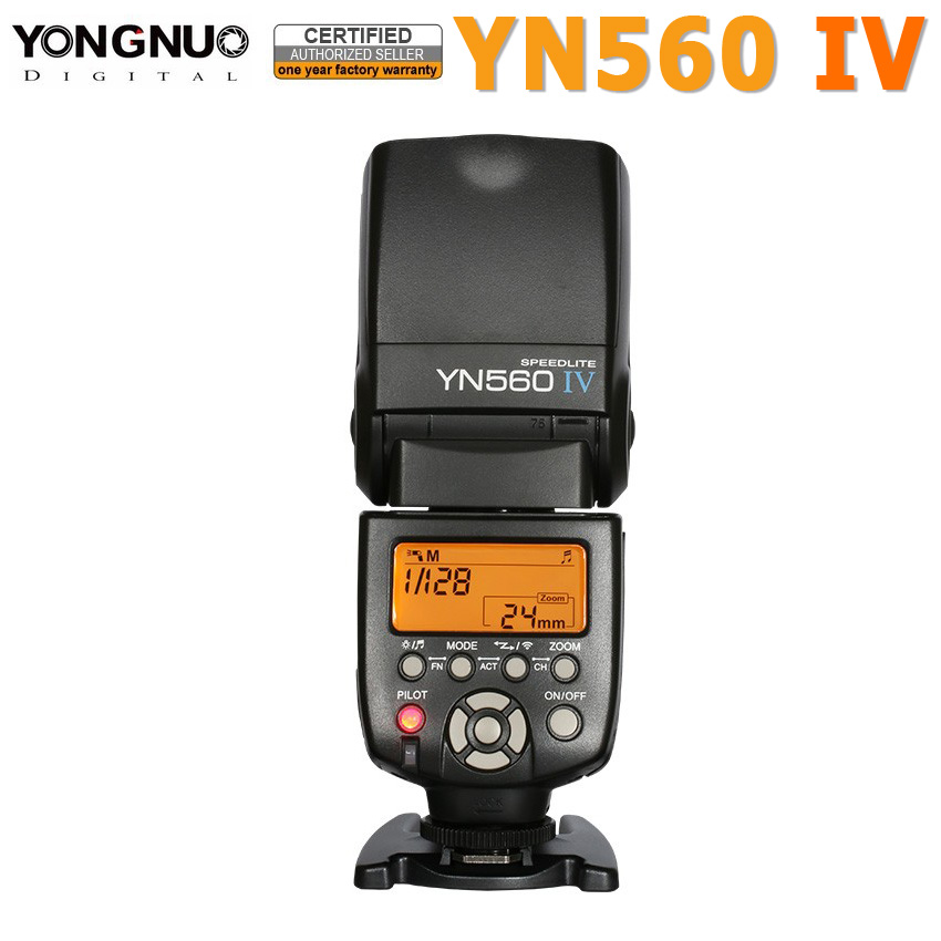 Yongnuo YN560IV YN560 IV YN 560 Flash Speedlite for Canon Nikon Olympus Pentax wireless Support 560TX RF605 RF603 RF602 trigger  yongnuo yn 560 iv yn560 wireless ttl hss master radio flash speedlite 2pcs rf 605c rf605 lcd wireless trigger for canon camera