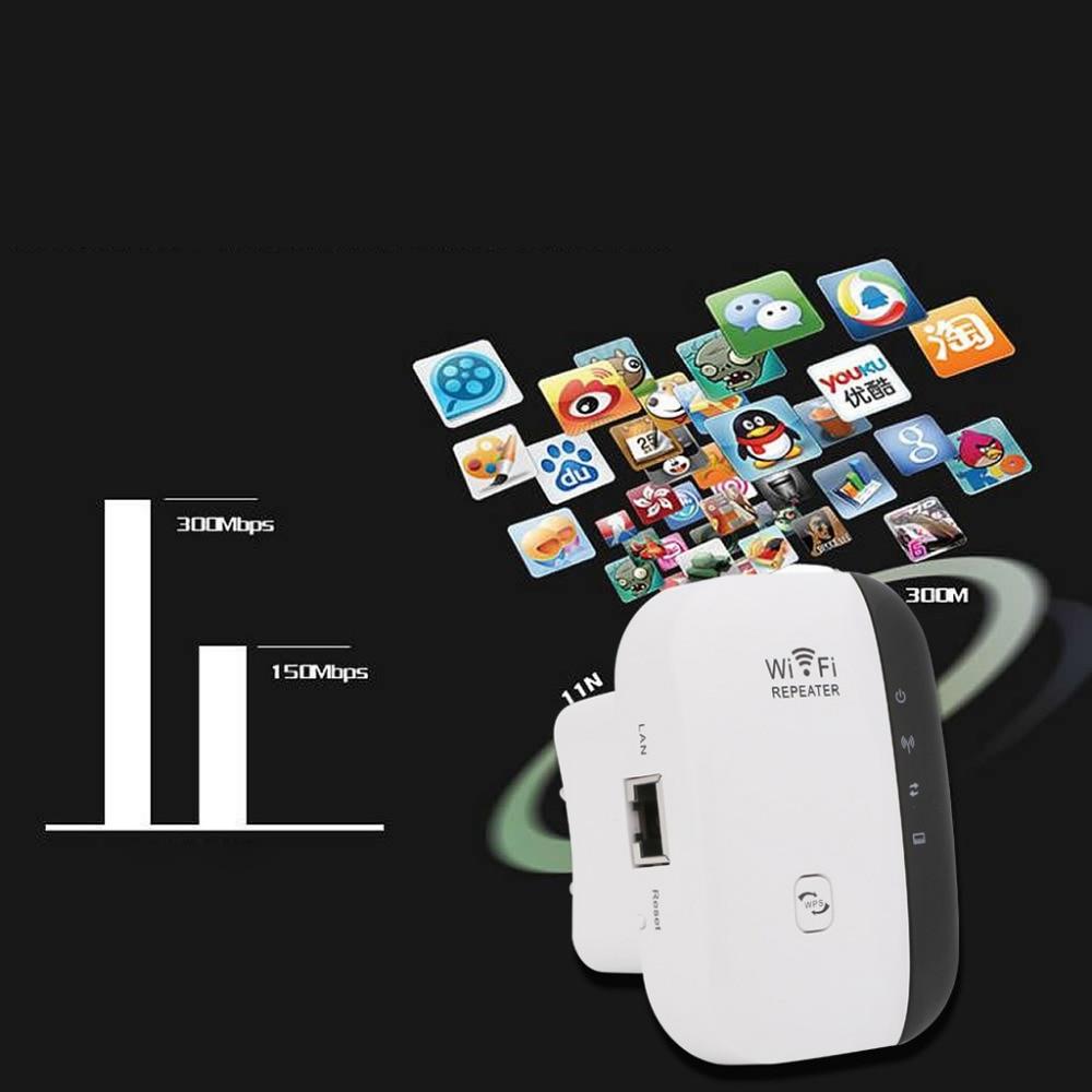 JINSHENGDA Wireless Wifi Repeater 300Mbps Signal Extender Booster Wireless-N AP Range 802.11 EU/US Plug