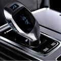 Nuevo Altavoz Del Teléfono Bluetooth Car Kit Manos Libres Estéreo de Alta Calidad + Tarjeta TF Reproductor de MP3 + Transmisor FM Cargador Del Coche Del USB Más Ligero