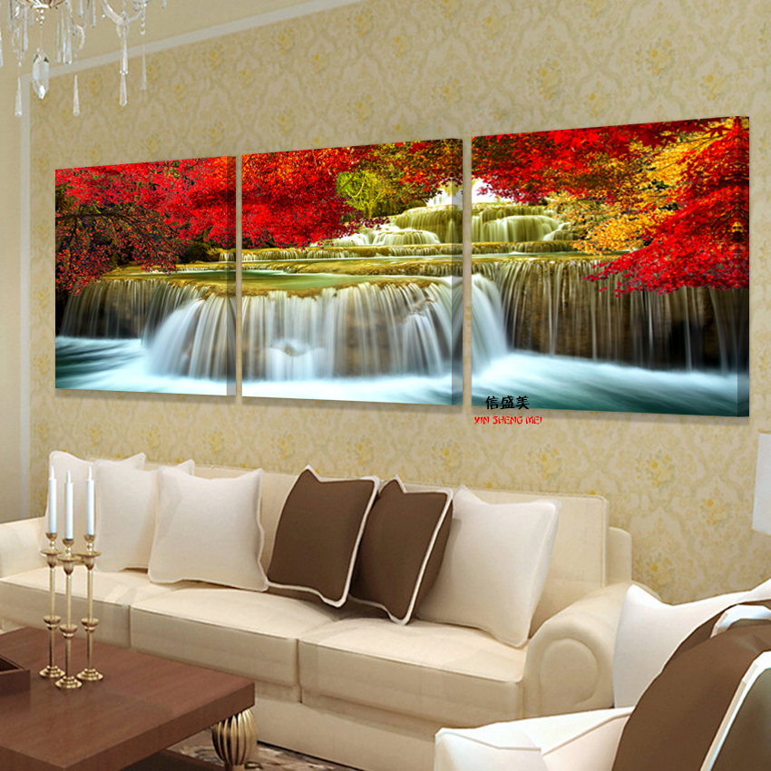 √(Sin marcos) 3 piezas cuadro lienzo cuadro pintura cuadros para ...