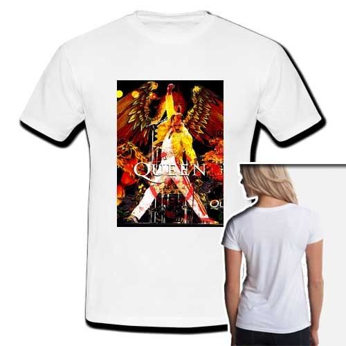 93ad514b Freddie Mercury t shirt women cartoon kawaii clothing femme tops ...