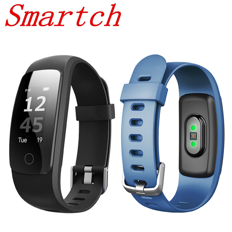 Smartch ID107 Plus HR GPS Smart Bracelet Heart Rate Monitor Pedometer Bluetooth Fitness Activity Sports Tracker Wristb