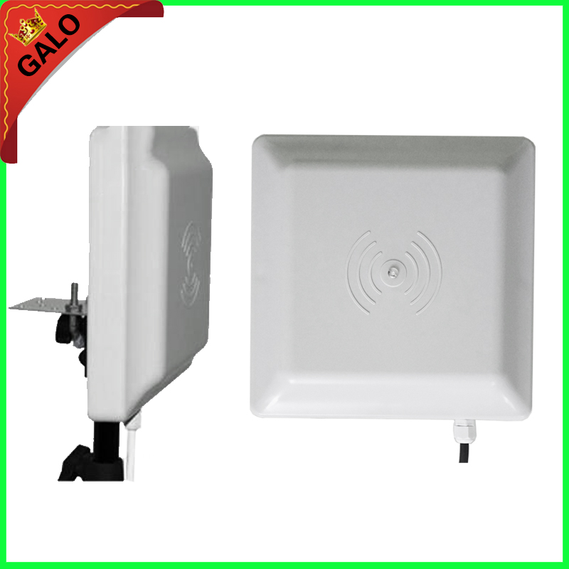 Used For Parking System UHF RFID Reader 6m Long Range Reader ,RS232/485 With Wiegand +Free SDK (FCC Approved)