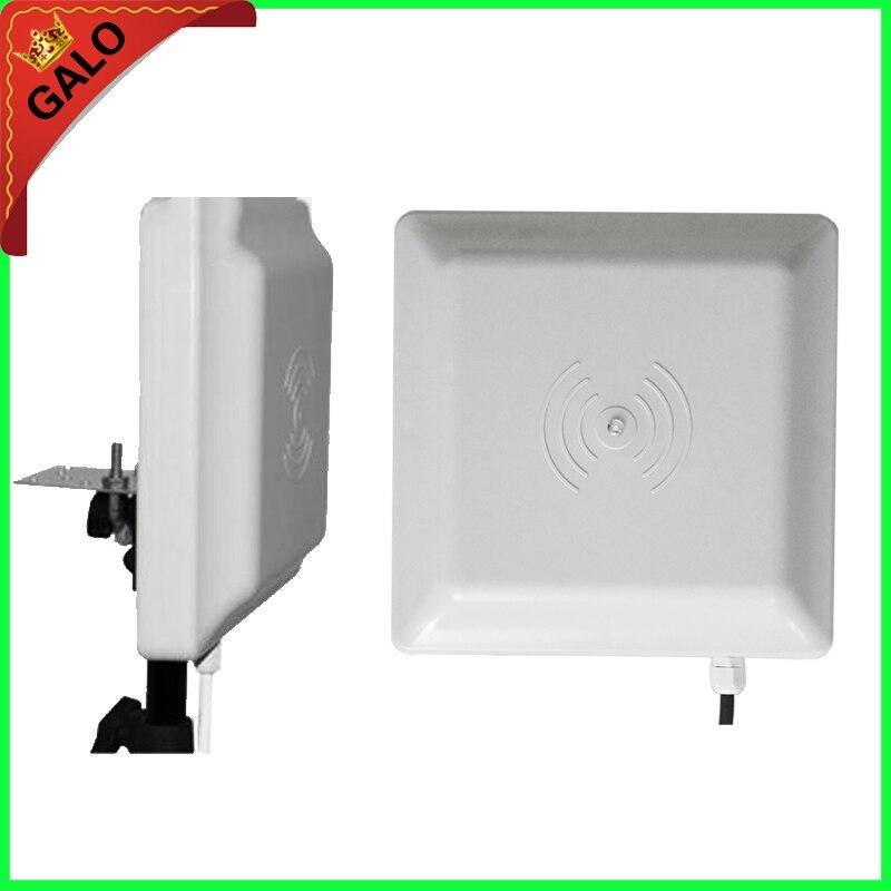Verwendet für parksystem UHF RFID leser 6 mt weitbereichsleser, RS232/485 mit Wiegand + Free SDK (FCC genehmigt)