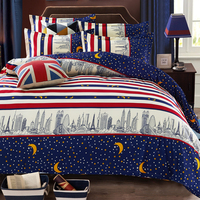 Star Moon bedding luxury Warm comfortable double duvet cover set Home textiles bed comforter bedclothes fitted cover