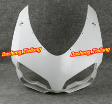 Unpainted Motor Upper Front Cowl Nose Fairing Fits for Ducati 848 1098 1198 2007 2008 2009 2010 2011