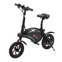 Электрический велосипед мини e велосипед складной Алюминий Электрический Cycling 250 Вт 36 В унисекс E велосипед Макс. скорость 30 км/ч ЕС плагин дл