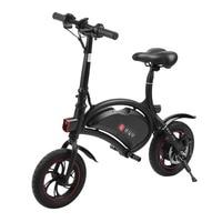Electric Bicycle Mini E Bike Folding Aluminum Electric Cycling 250W 36V Unisex E Bike Max. Speed 30km/h EU Plug Adult