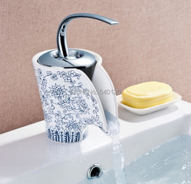 2014 novelty porcelain with brass antique bathroom faucets, mixers ...