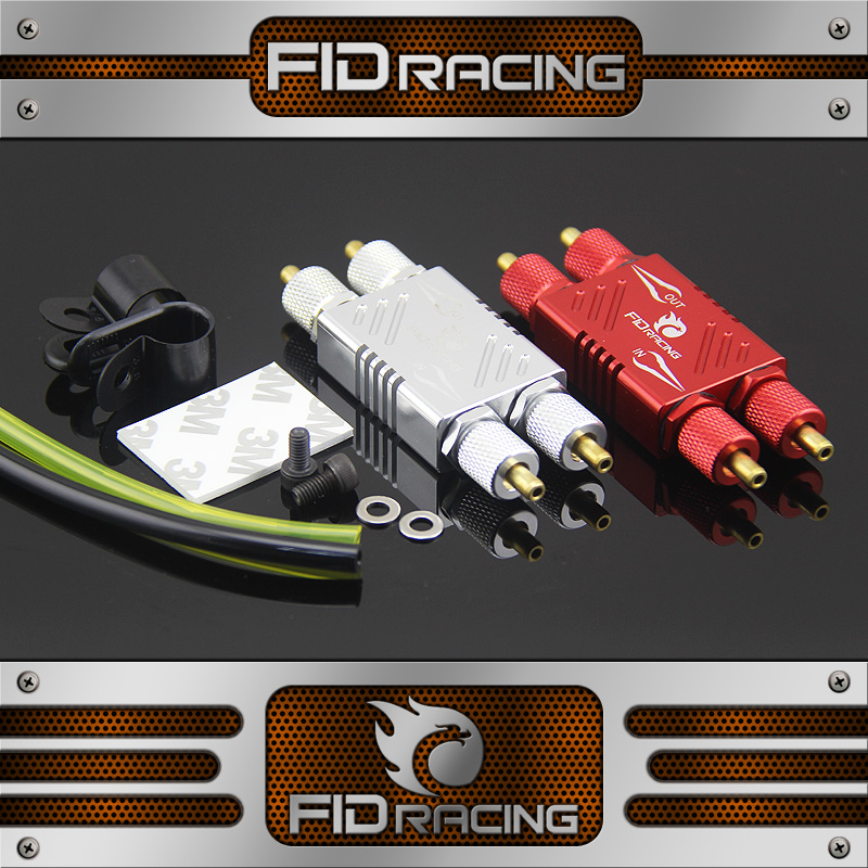 1 5 rc car gas FID fast disassembly two way oil filter carburetor filter for LOSI