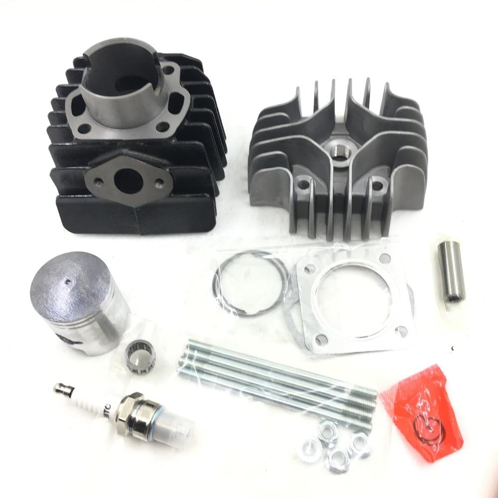 SherryBerg Cylinder Head Piston Ring Gasket Clip Kit fit for Suzuki LT50 LTA50 JR50 1985 2006
