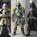 Figuras de Acción de Star Wars Boba Fett Darth Vader Stormtrooper Sic Samurai Taisho 17 cm Realización Anime Figuras Juguetes de Star Wars