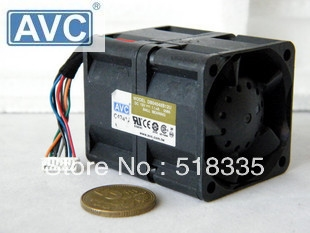 For AVC 12V 1.14A 4cm 40x40x48mm dual-rotor cooling fan DB04048B12U inverter server cooling fan
