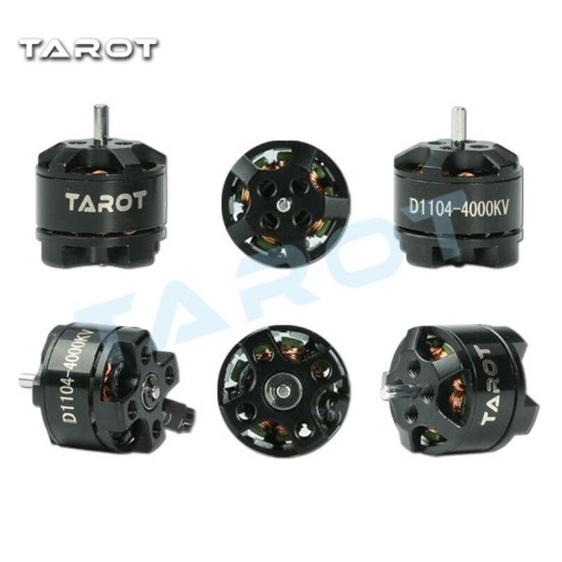 4 PCS/Lot Tarot MT1104 4000KV moteur Brushless avec hélices TL150M1 pour bricolage FPV Mini 120 130 multi-rotor RC Drone