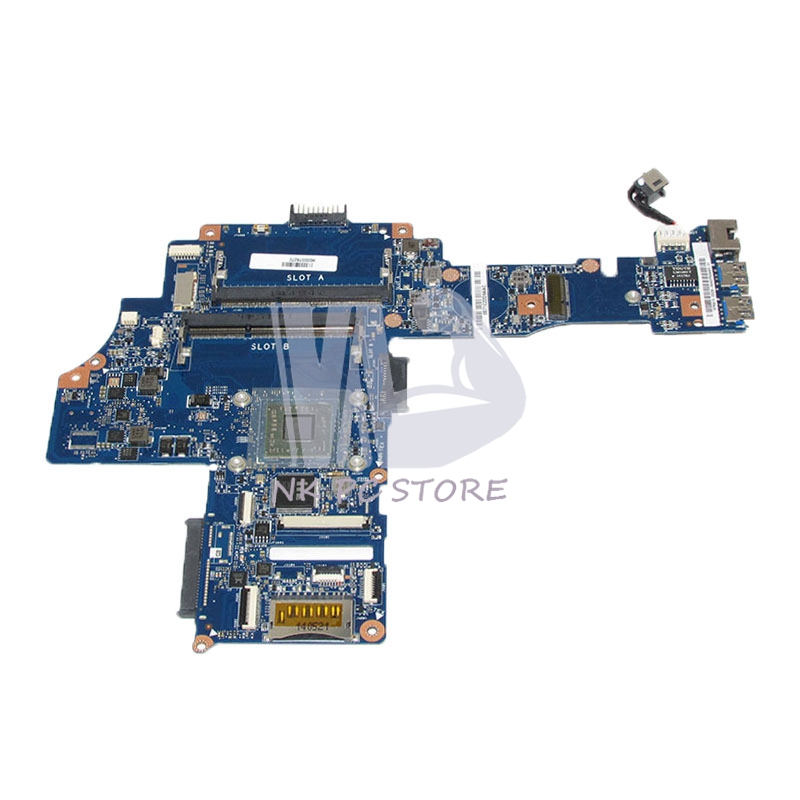 H000078270 Main Board For Toshiba Satellite C40-B Laptop Motherboard AM6310 CPU Onboard DDR3 Full tested h000042190 main board for toshiba satellite c875d l875d laptop motherboard em1200 cpu ddr3