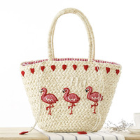 Women Shoulder Bag Summer Handbags New Fashion Totes Designers Straw Purse Woven Beach Totes Famous Designer