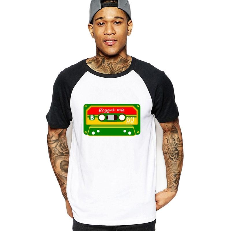 2019 vintage Reggae Mix Tape Rastafarian rasta eighties retro rastafari  music Men funny tshirt streetwear cotton t-shirt t shirt
