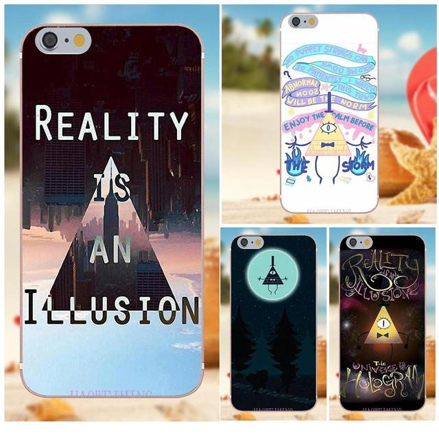 Reality Illusion Bill Cipher Tpu Protective For Iphone 4s 5s 5c Se
