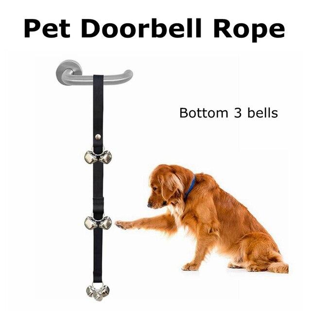 2017 New Adjustable Nylon Pet Dog Training Dog Doorbell Rope House