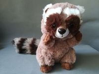 cute raccoon plush toy about 26cm gray raccoon soft doll kid's toy birthday gift h1803