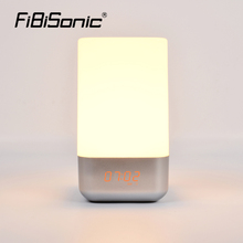 Decorative Bedside Alarm Clock With LED Light For Tabletop