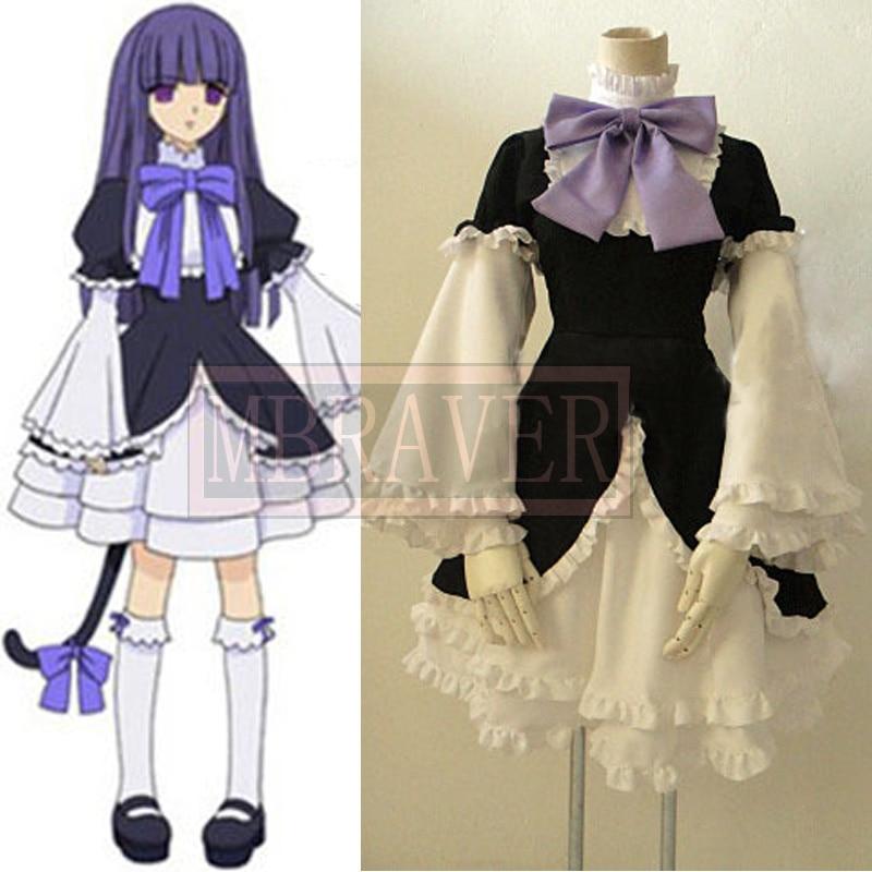 Free Shipping Umineko no Naku koro ni Frederica Bernkastel Cosplay Halloween cosplay costume