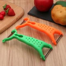 Практичный для овощей, Овощечистка для фруктов, вспомогательный нож для нарезания соломкой, слайсер для фруктов, овощей, инструменты, гаджет, кухонные инструменты, гаджеты