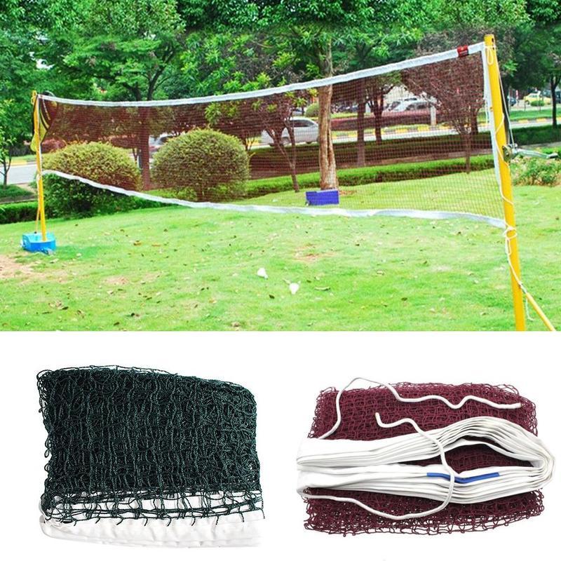 610cm*76cm Strong Professional Badminton Net Badminton Standard Training Tools Outdoor Sports Accessories