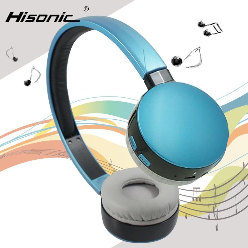 Hisonic Bluetooth Headset Wireless Headphones Stereo Sport Earphone Microphone Gaming Cordless Auriculares Audifonos hestia ex 01 bluetooth earphone car headphones with microphone auriculares wireless stereo headset audifonos for iphone 6 7 sony