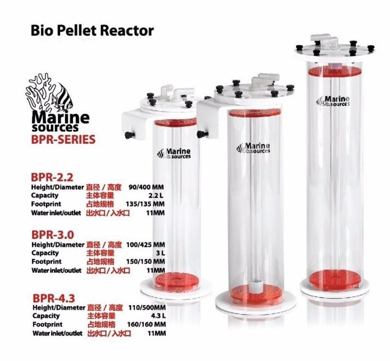 Marine Sources BRP1.0 BPR2.2 BPR3.0 BPR4.3 Red Devil Bio Pellet Reactors  NP Bean Boiling Machine-in Filters & Accessories from Home & Garden    3