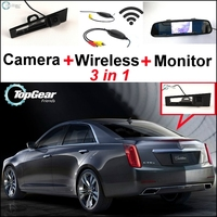 3 In1 Special WiFi Rear View Camera Wireless Receiver Mirror Monitor Easy DIY Parking System For
