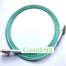 繊維パッチコードジャンパーケーブルLC LC OM3シンプレックスgoodftth 1 15メートル6ピース/ロット