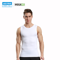 WOSAWE Men S Jogger Running Vest High Elastic Man Training Sleeveless T Shirt Sports Bra Running