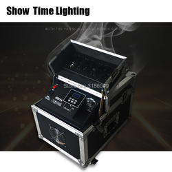 Boa qualidade 600 W Haze máquina controle dmx Nevoeiro Hazer Máquina de fumaça com caso de voo para o efeito de palco como o país das maravilhas de conto de fadas