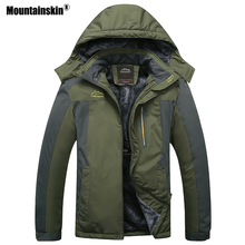 Mountainskin font b Men s b font Winter Fleece Thermal font b Jackets b font Outdoor