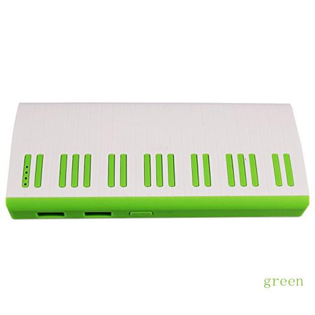 Venda manufactory venda quente Dupla USB bateria externa 12000 mah portátil banco de potência tablet