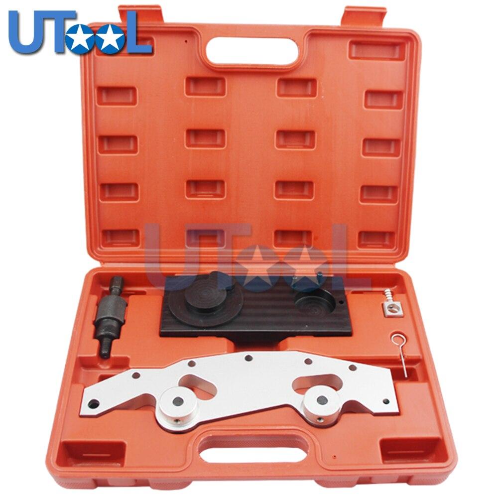 Ensemble d'outils automobiles UTOOL pour BMW M52TU/M54/M56 ensemble maître d'outil de verrouillage de synchronisation de moteur d'alignement d'arbre à cames
