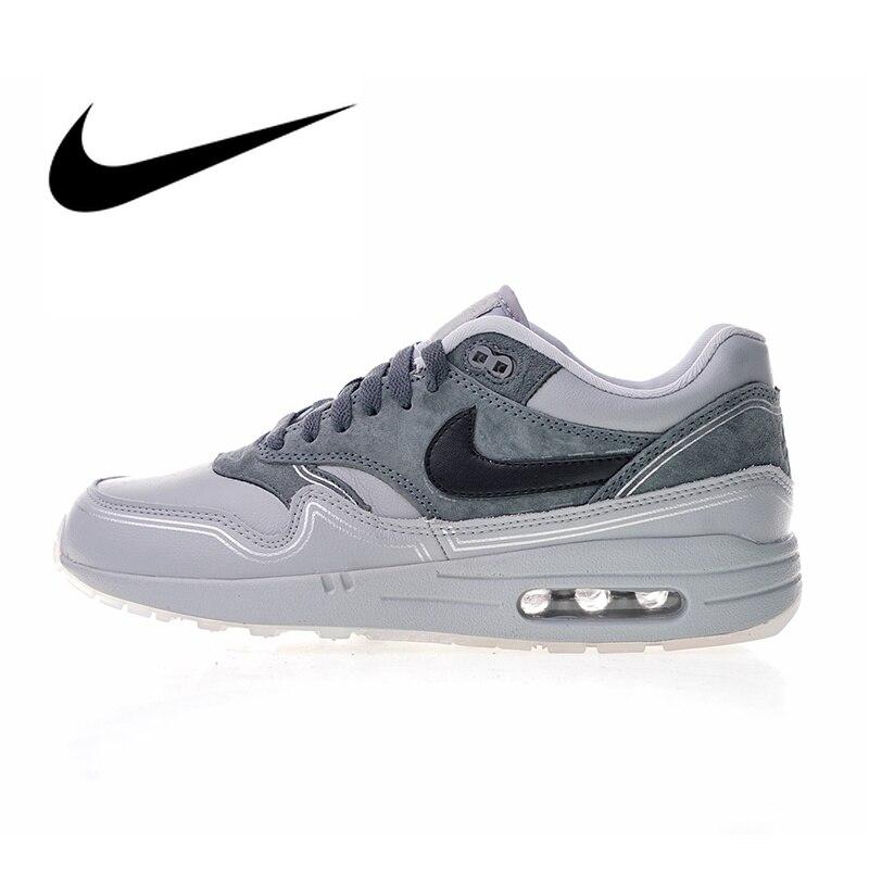 1ebb3da701917 Nike Air Max 1 Pompidou Men's Breathable Running Shoes Sport Outdoor  Sneakers Athletic Designer Footwear 2019