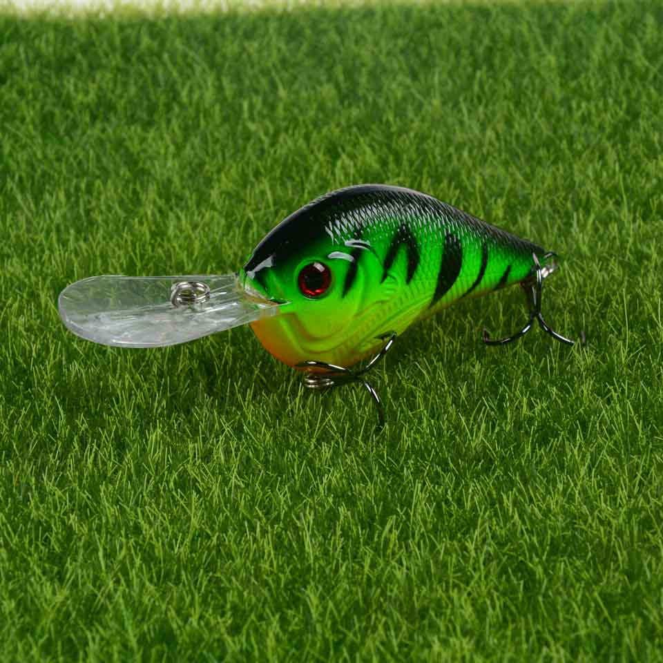 MCB-1.5 Zombie Custom Painted Fishing Crankbait Casting Lure