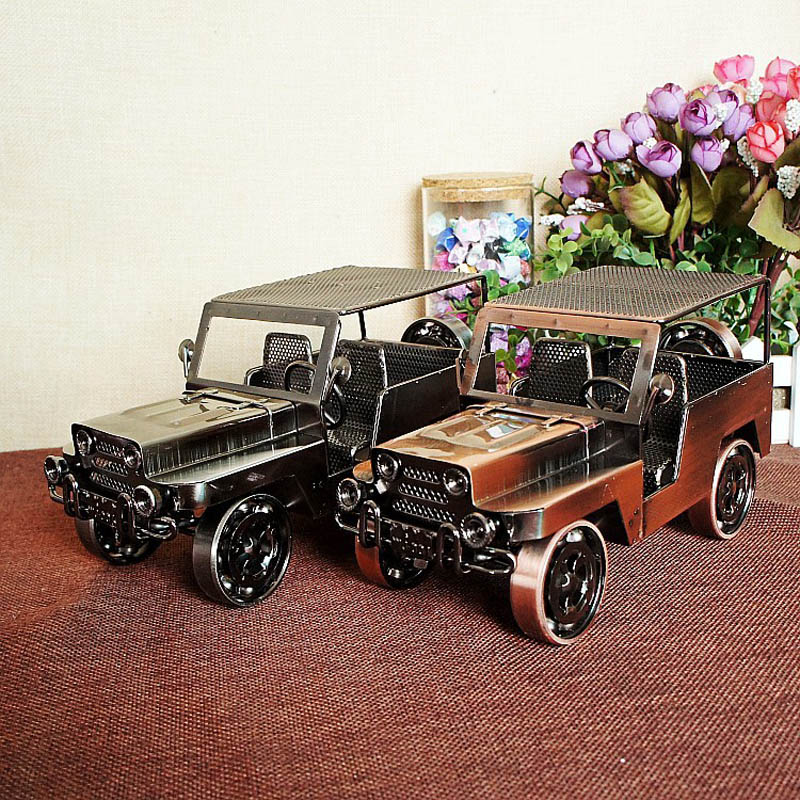 awesome classic rustless metal handicraft old car toys for children brilliant gift collection indoor decoration
