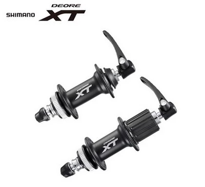 SHIMANO MTB DEORE XT M8000 Front & Rear Hubs Ultralight Bicycle Hubs 32H MTB Mountain Bike Hubs Quick Release Bicycle Parts novatec d881 d882 mtb bike hubs fr am mountain bike disc hubs 15 mm rear hub front 12 x142 barrel shaft hub 32 holes