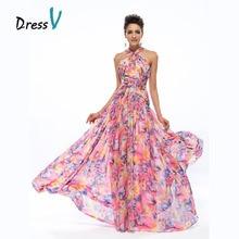 Вечерное платье-трапециевидный с бретелькой и шнуровкой