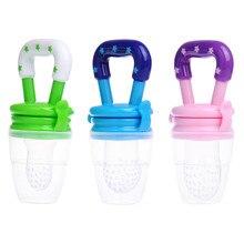 Infant Newborn Baby Pacifier Fresh Food Fruit Milk Feeder Nipples Safe Baby Feeding Supplies Nipple Teat