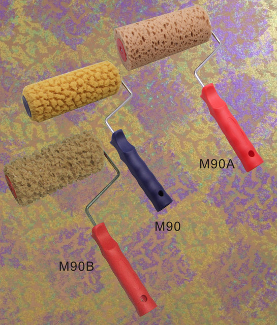 Art Seaweed Sponge texture art paint roller brush paint tool grout