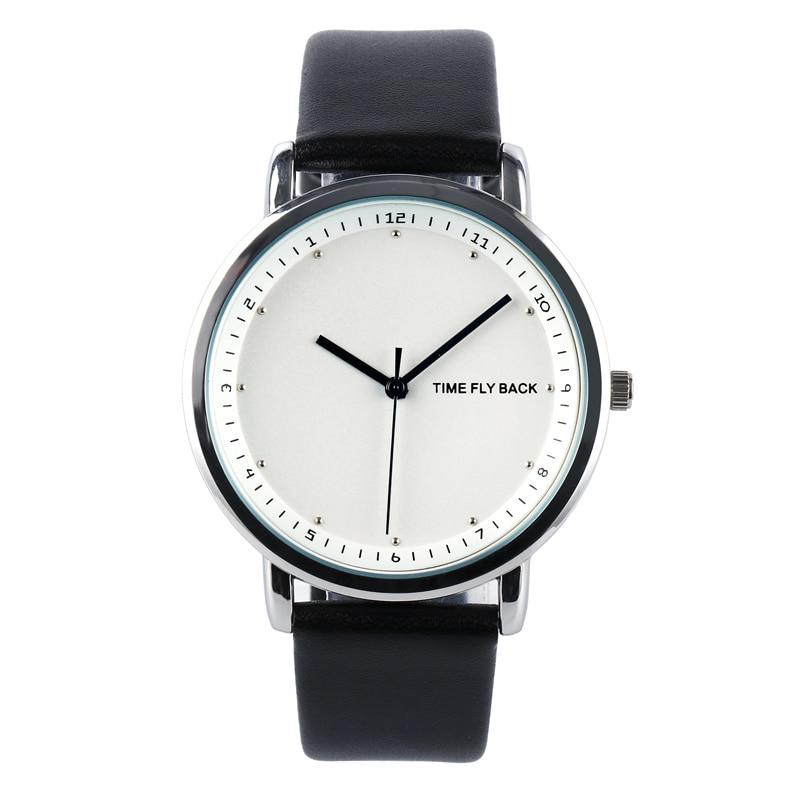 Vigilanza di cuoio dell'orologio del quarzo dell'orologio della - Orologi da uomo